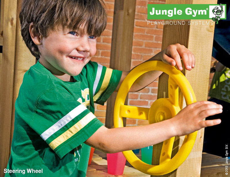 Jungle gym stuurwiel steering wheel
