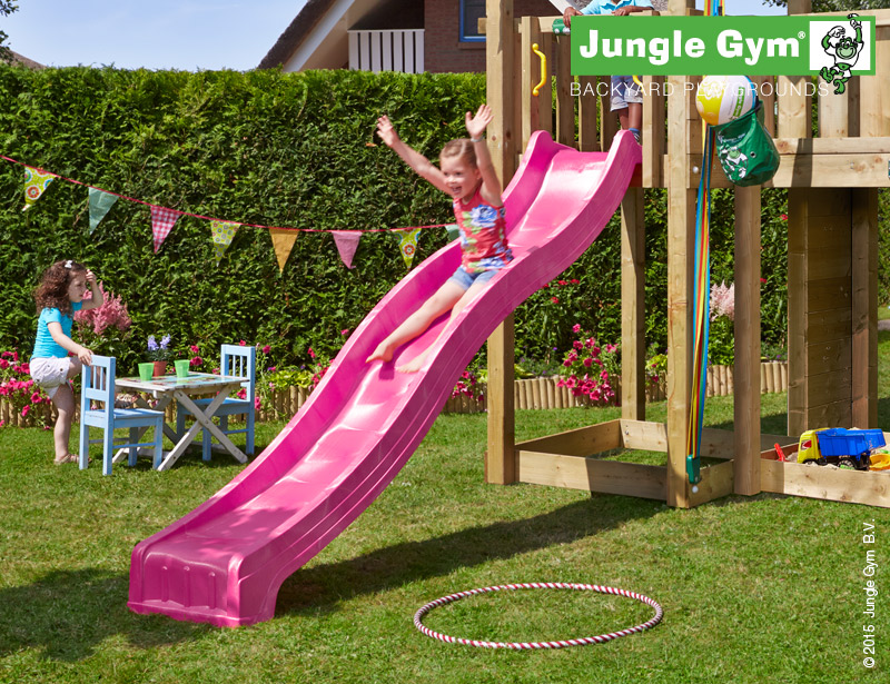 Jungle Gym glijbaan