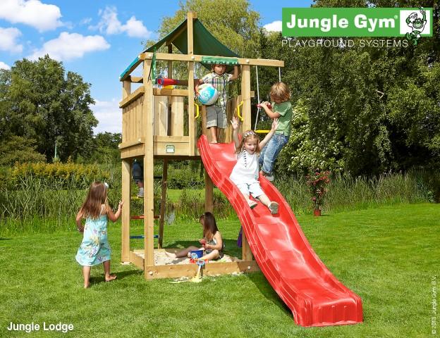 Jungle Gym Lodge speeltoren