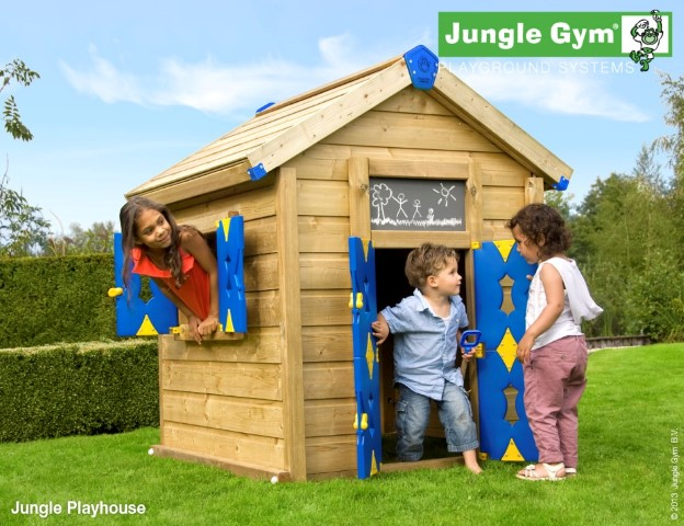 Jungle Gym Jungle Playhouse speelhuisje