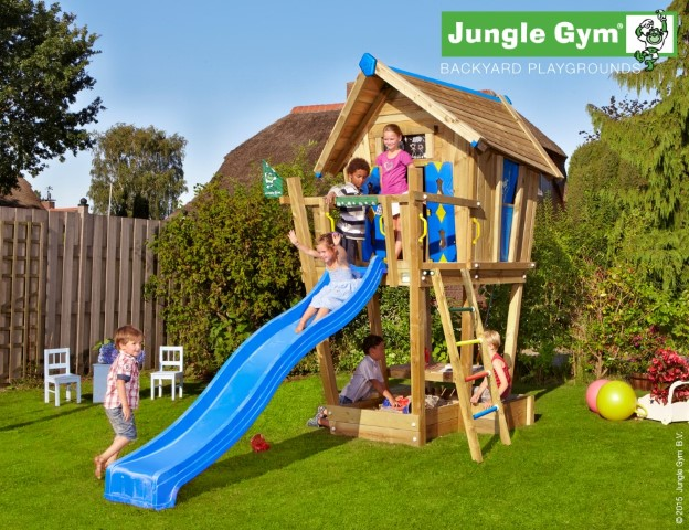 Jungle Gym Crazy Playhouse CXL speelhuisje