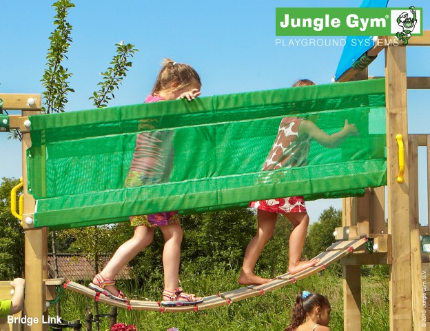 Jungle gym verbindingsbrug