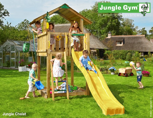 Jungle Gym Chalet speeltoren