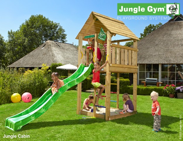 Jungle Gym Cabin speeltoren