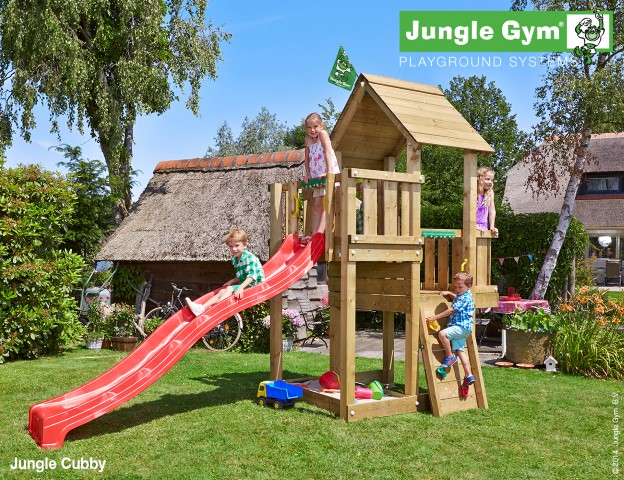 Jungle Gym Cubby speeltoren