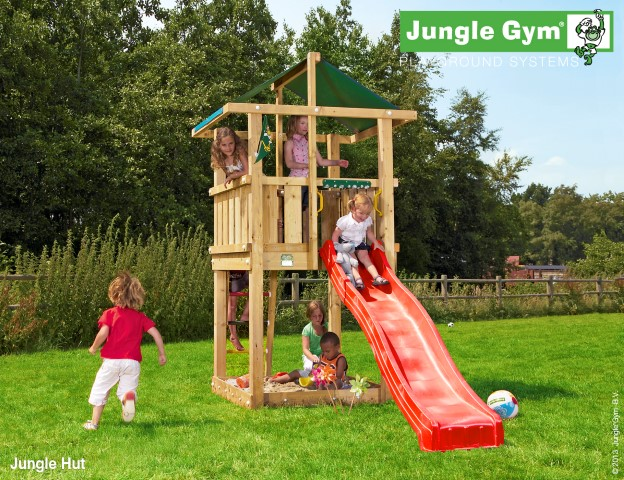 Jungle Gym Hut speeltoren