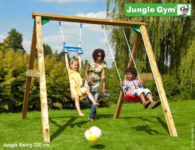 losstaande schommels jungle gym