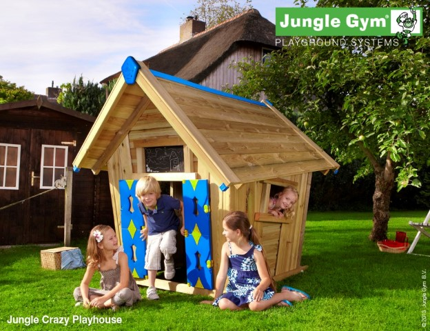 Jungle Gym Crazy Playhouse speelhuisje