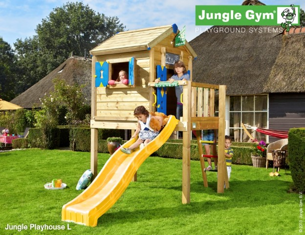 Jungle Gym Jungle Playhouse L speelhuisje