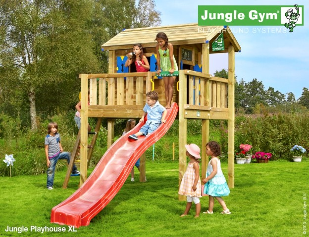 Jungle Gym Jungle Playhouse XL speelhuisje