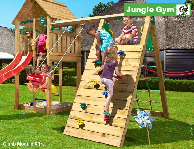Jungle gym klimplank module